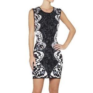 BCBGMAXAZRIA Jacquard Bodycon Dress*